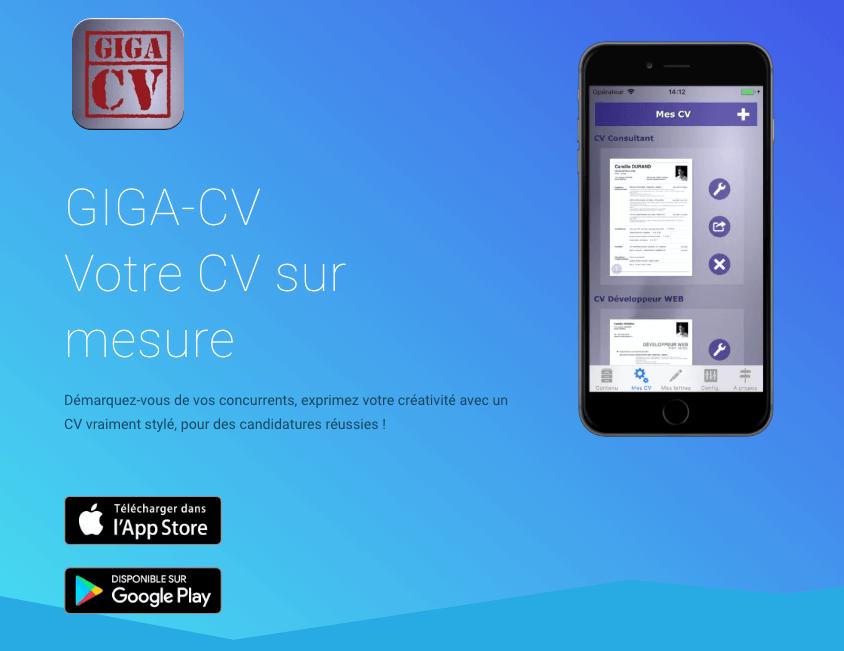 Votre Cv Sur Votre Smartphone Android Ou Apple Redigez Maintenant Votre Cv Sur Votre Smartphone Puis Envoyez Dir App Covers Resume Photo How To Make Resume