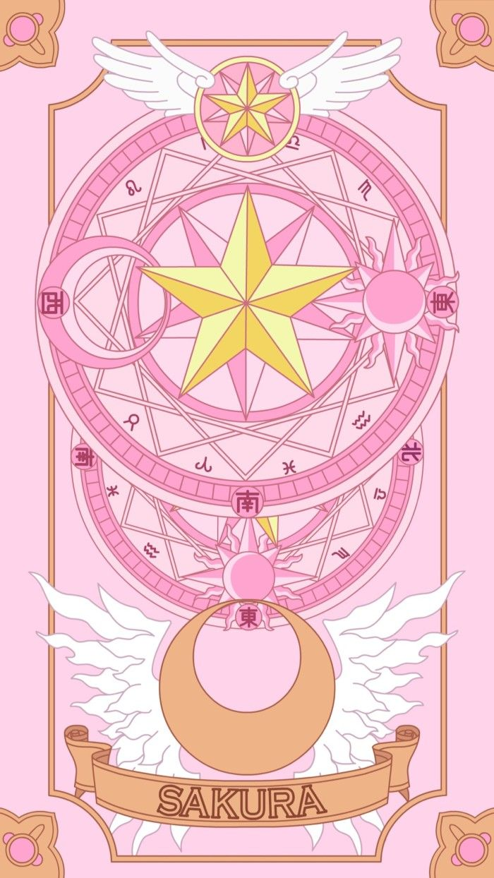 Pin By Lara Suarez On Wallpapers Sakura Card Kawaii Wallpaper Cardcaptor Sakura