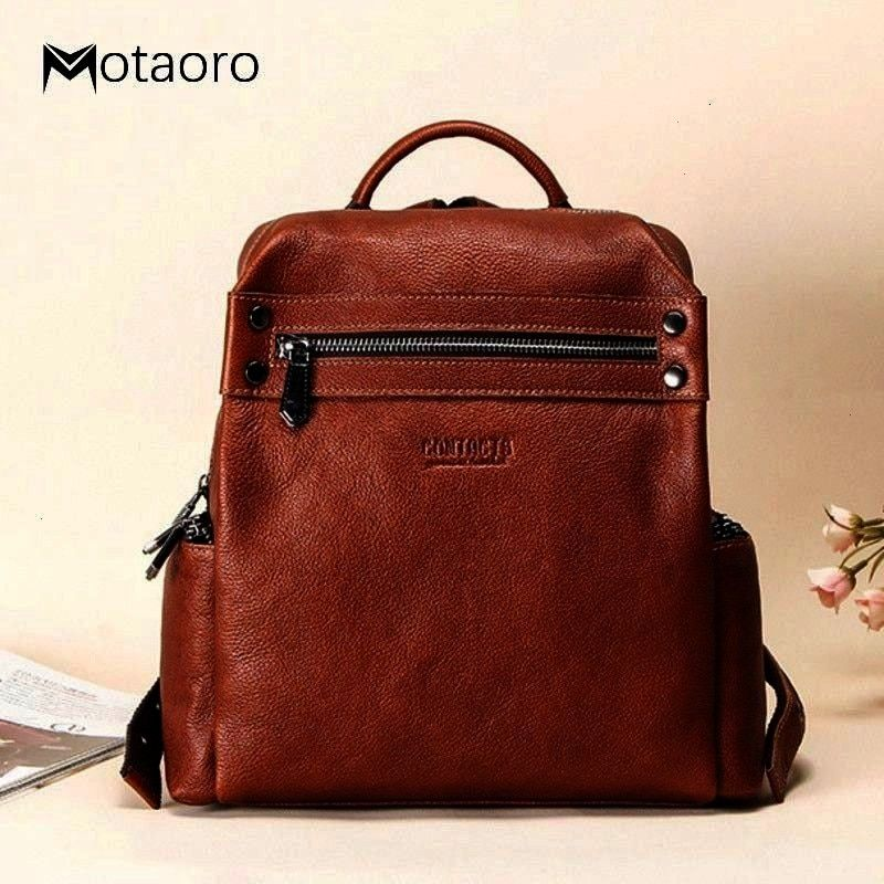 Leather Mens Bags Portable Travel Bags Official Business Mens Bags Womens Bags Mens and Womens Schoolbags Solid Color Multi-Function Crossbody Shoulder Retro Bag