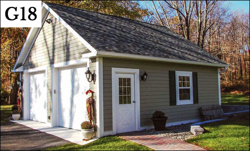 custom post frame garage g18 House Ideas Pinterest – Post Frame Garage Plans