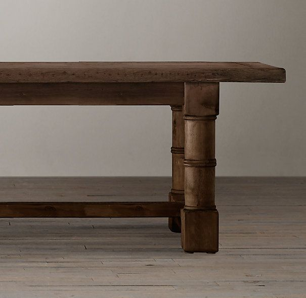 Guns On Kitchen Table: Salvaged Wood Gun Barrel Rectangular Extension Dining