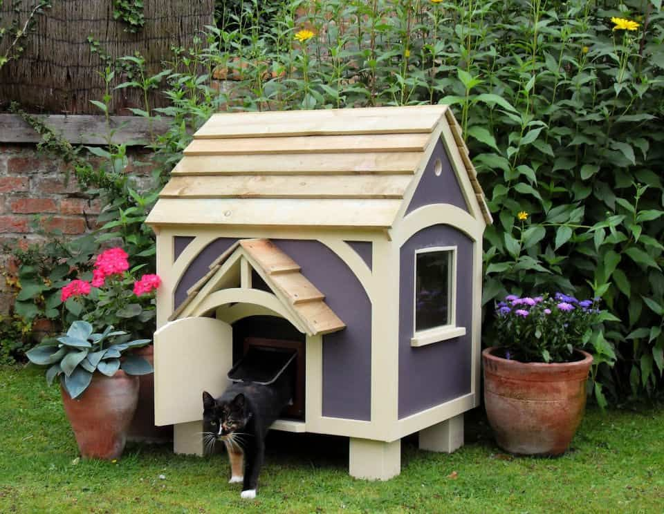 30 Best Diy Outdoor Cat House Plans Outdoor Cat House Wooden Cat House Dog House Heater