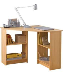 Buy Malibu Corner Desk - Beech Effect at Argos.co.uk - Your Online ...