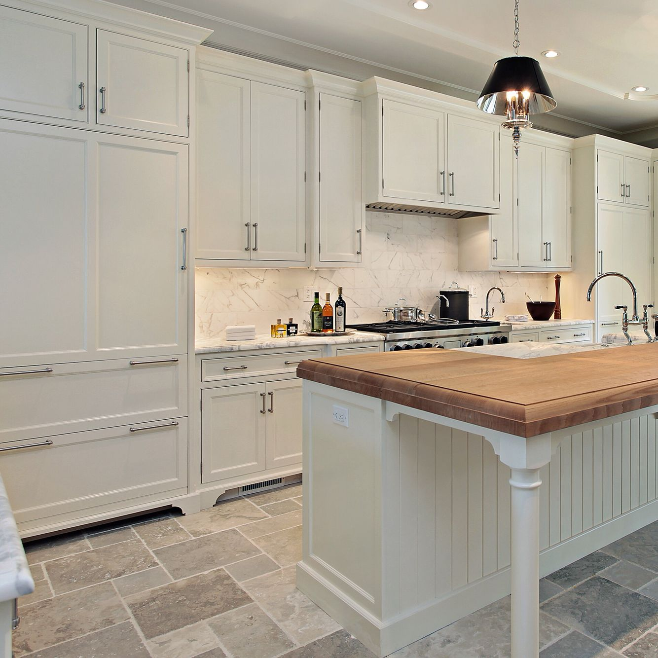 Prasada Kitchens And Fine Cabinetry: So Beautiful. A Wood Countertop Can Really Create Warmth