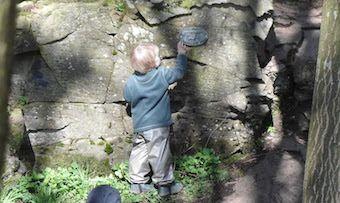 Literacy in the Woods at the Secret Garden Outdoor Nursery ...