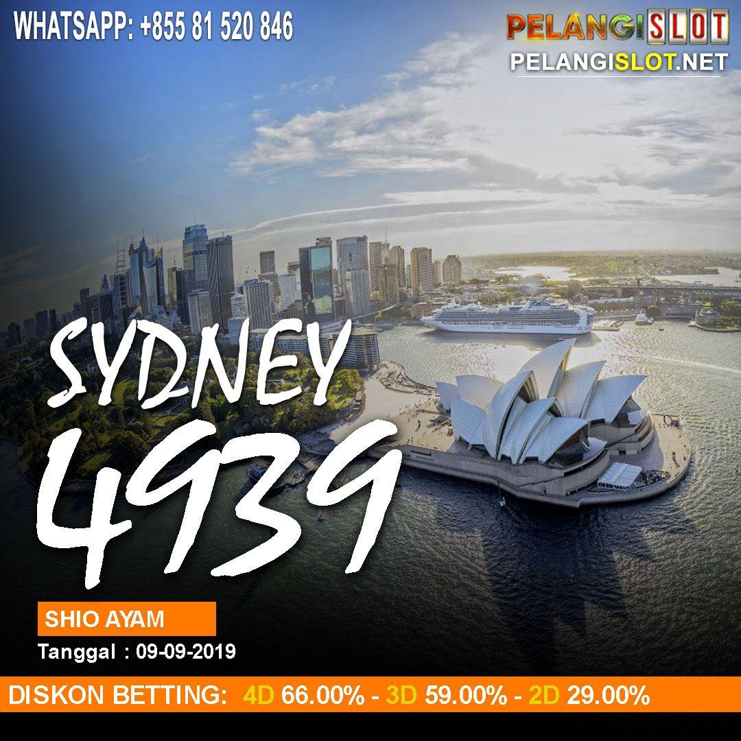 RESULT SYDNEY POOLS 09 SEPTEMBER 2019 | Pelangi, 12