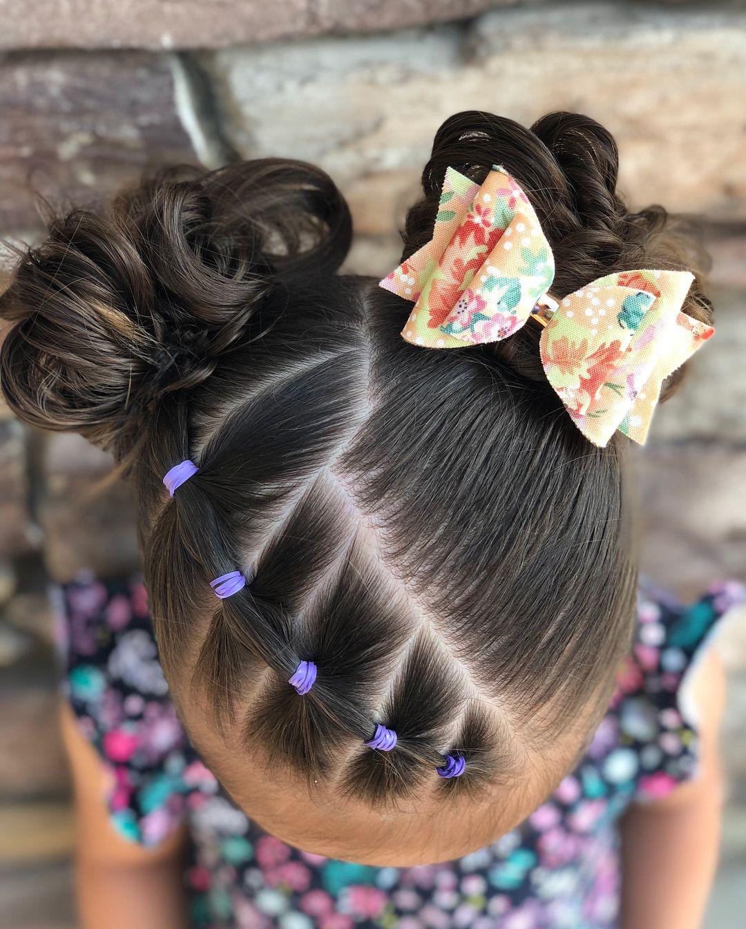 Cute Elastic Hairstyle Ig Toddlerhaircreations