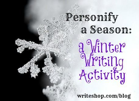 Winter Personification Activities Writing Ideas And Language Arts