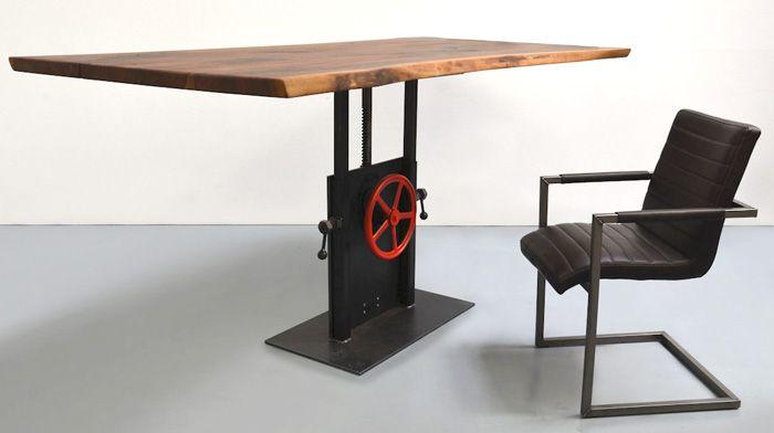 Tischgestell Hohenverstellbar Modell Narrow Tisch Hohenverstellbar Design Tisch Schreibtisch Zu Hause