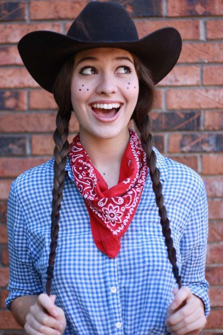 Einfache Faschingskostüme ohne viel Aufwand und schnell zaubern #cowboysandcowgirls