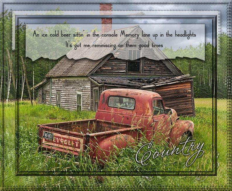 Country Dirt Road Song Quote Old Trucks Abandoned Farm Houses Chevy Pickup Trucks