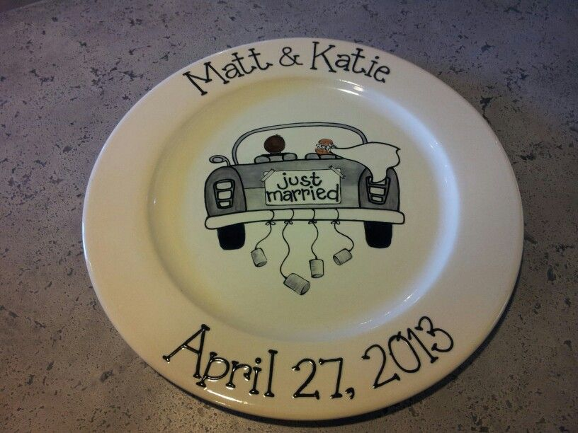 Wedding platter hand painted at Daydreams Ceramic Cafe #ceramiccafe