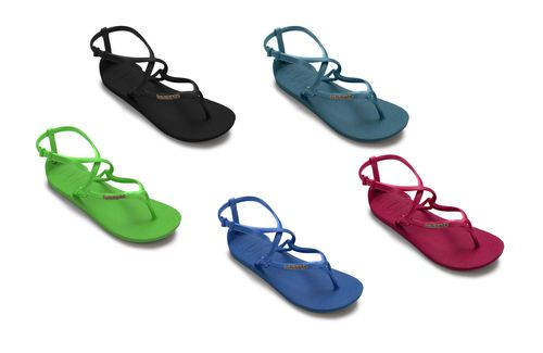 6ee42c4aef9 Havaianas Grace Mix Colour Rubber Beach Brasil Sandal Flip Flop Women EU UK  Size
