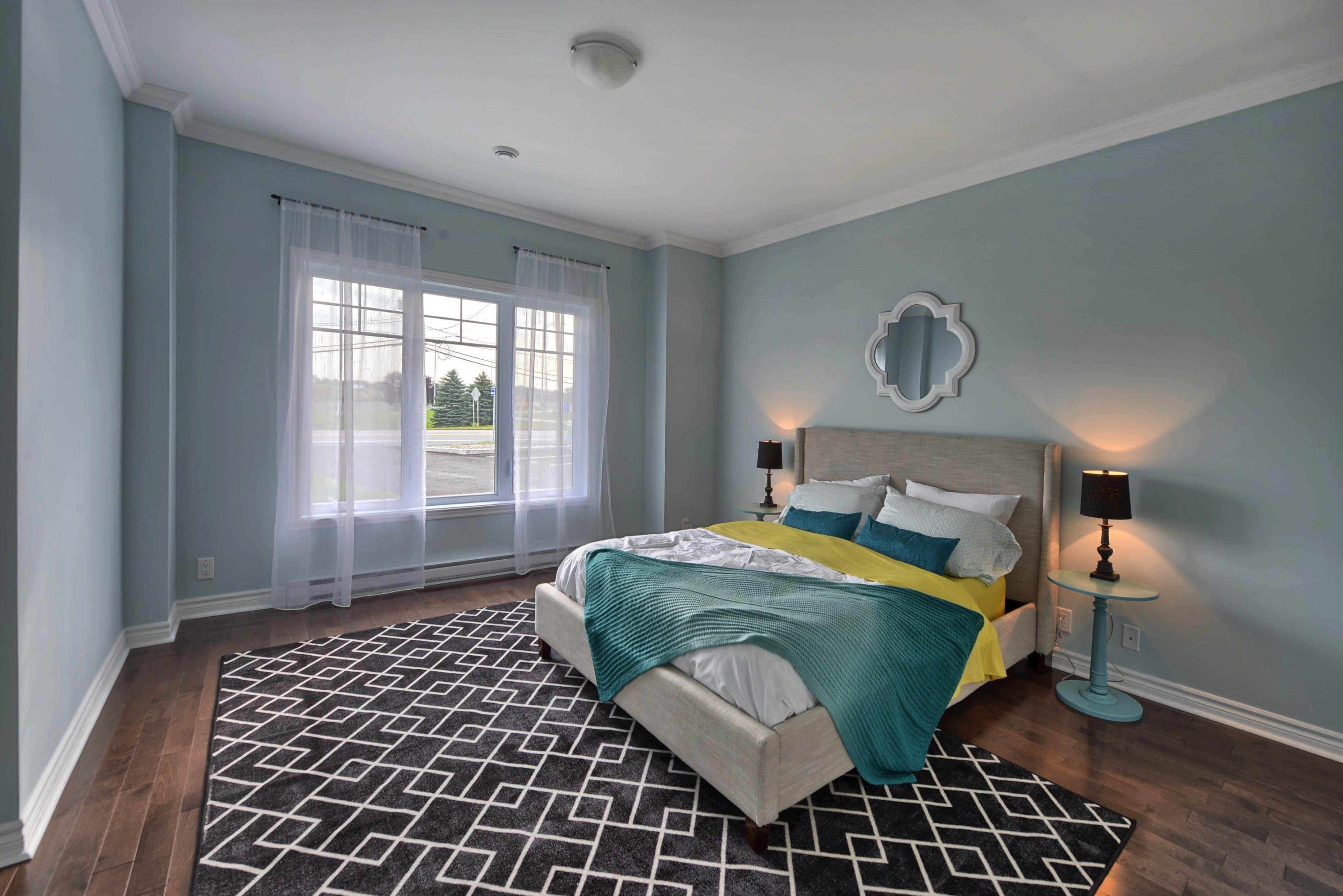 Black Carpet For Bedroom Chambre Coucher Bleu Aqua Tapis Noir Aqua Blue Bedroom Black
