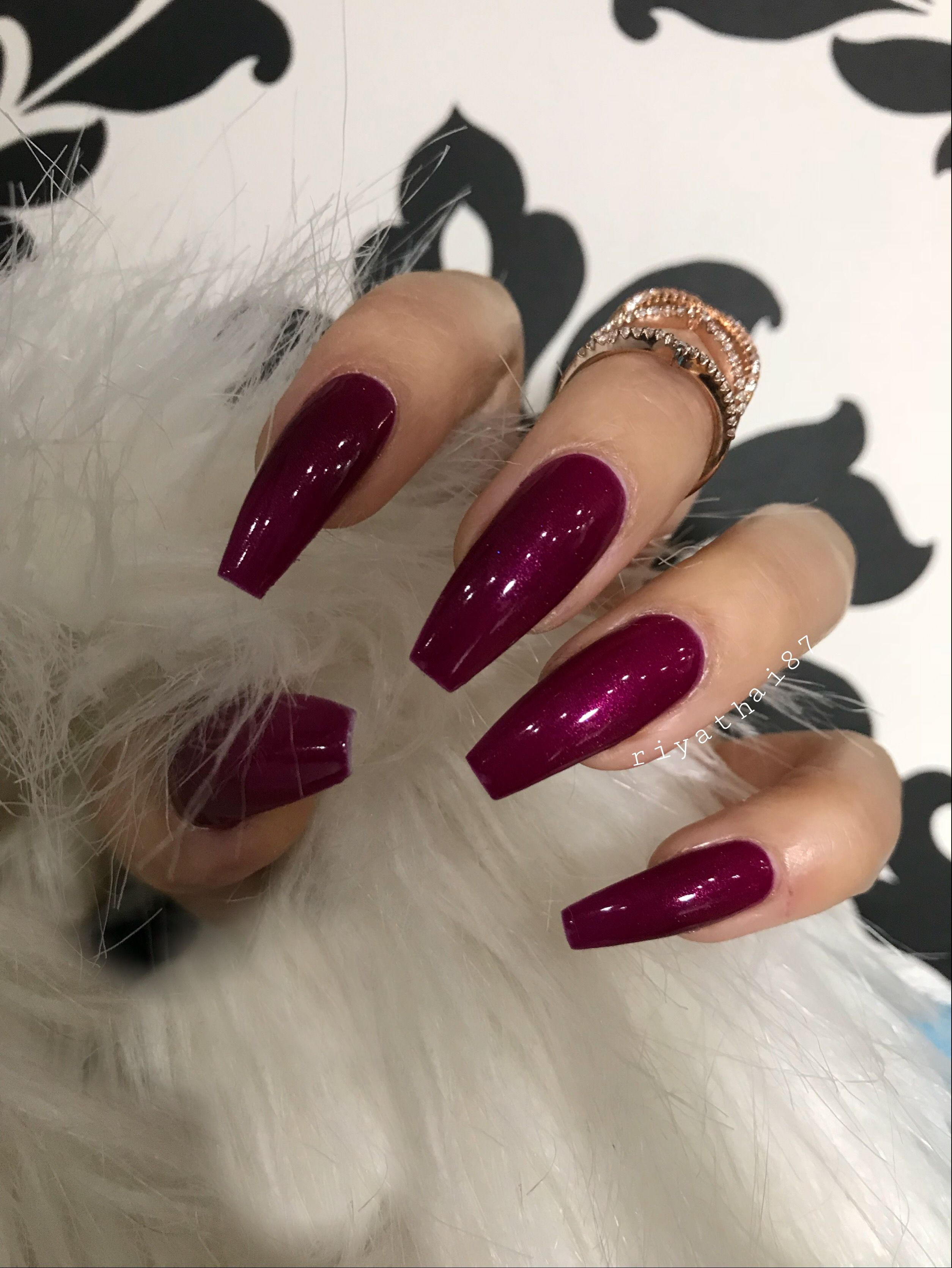 The ombre nail art designs look very glamorous for women. They seem ...