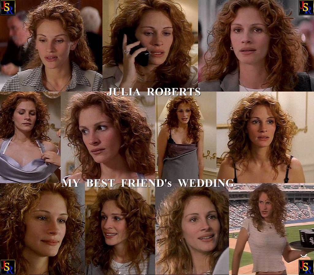 julia roberts hair in my best friends wedding why cant mine look