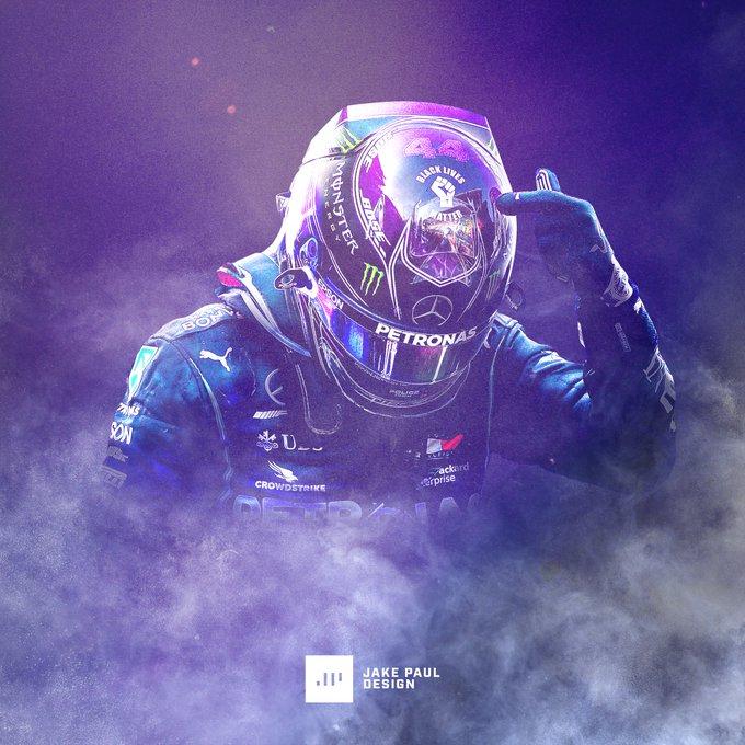 (1) Home / Twitter in 2020 F1 art, Lewis hamilton