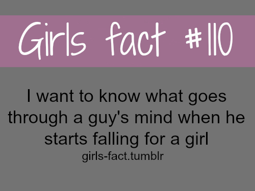 Girls And Guys Quotes: I Just In General Want To Know What Goes Through A Guys