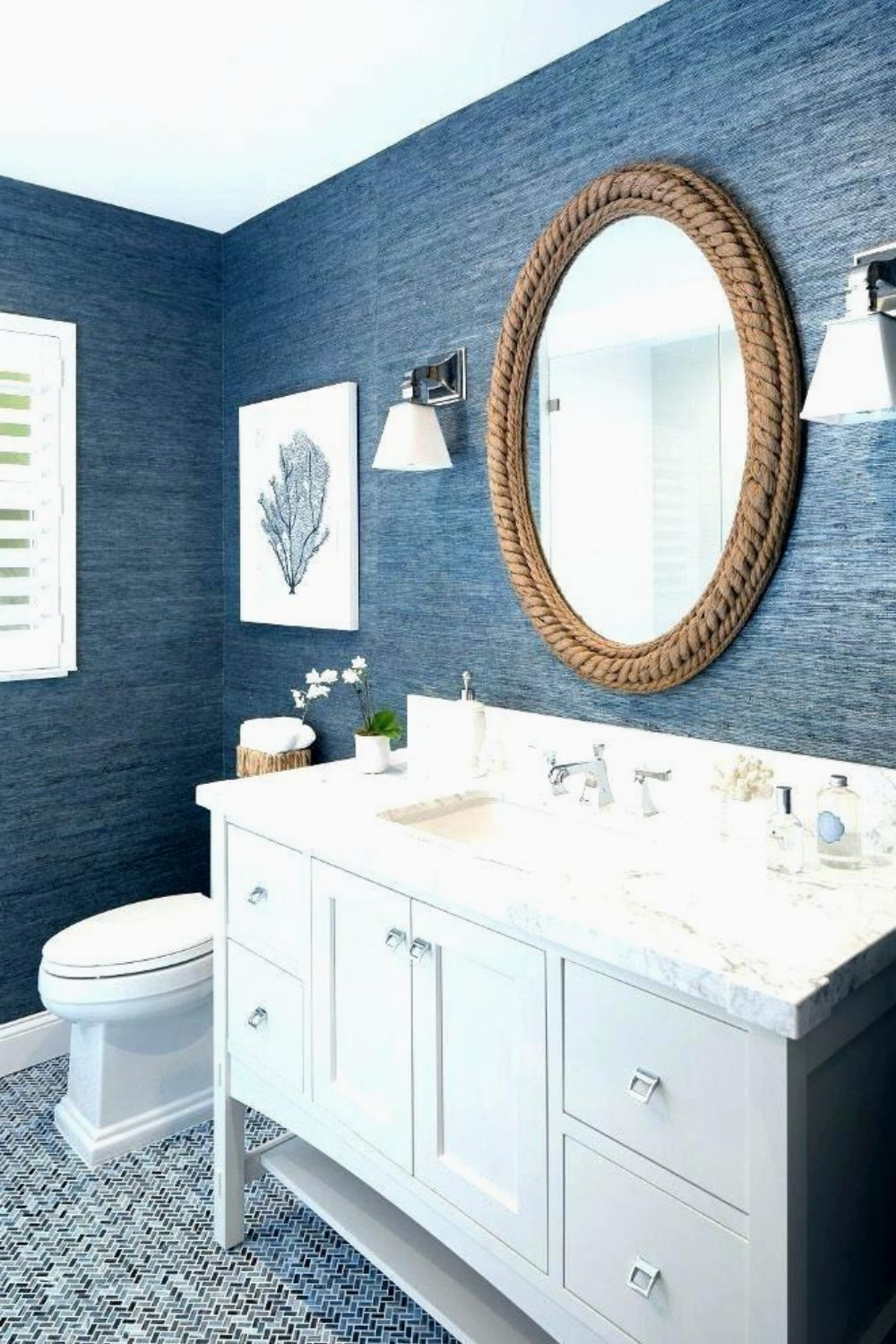 the high popularity of blue wallpaper for blue rooms