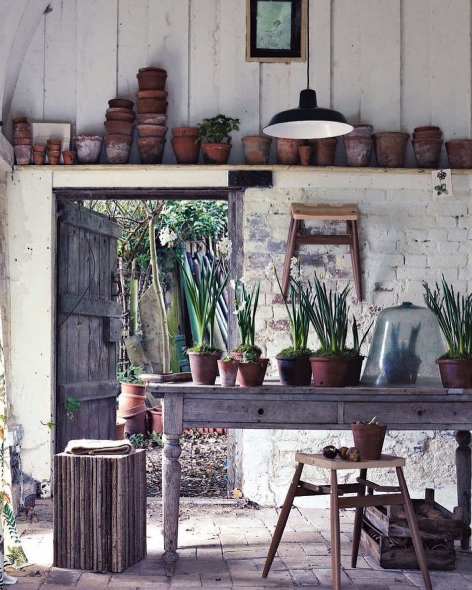 Potting Rooms Are So In This Spring Home, garden