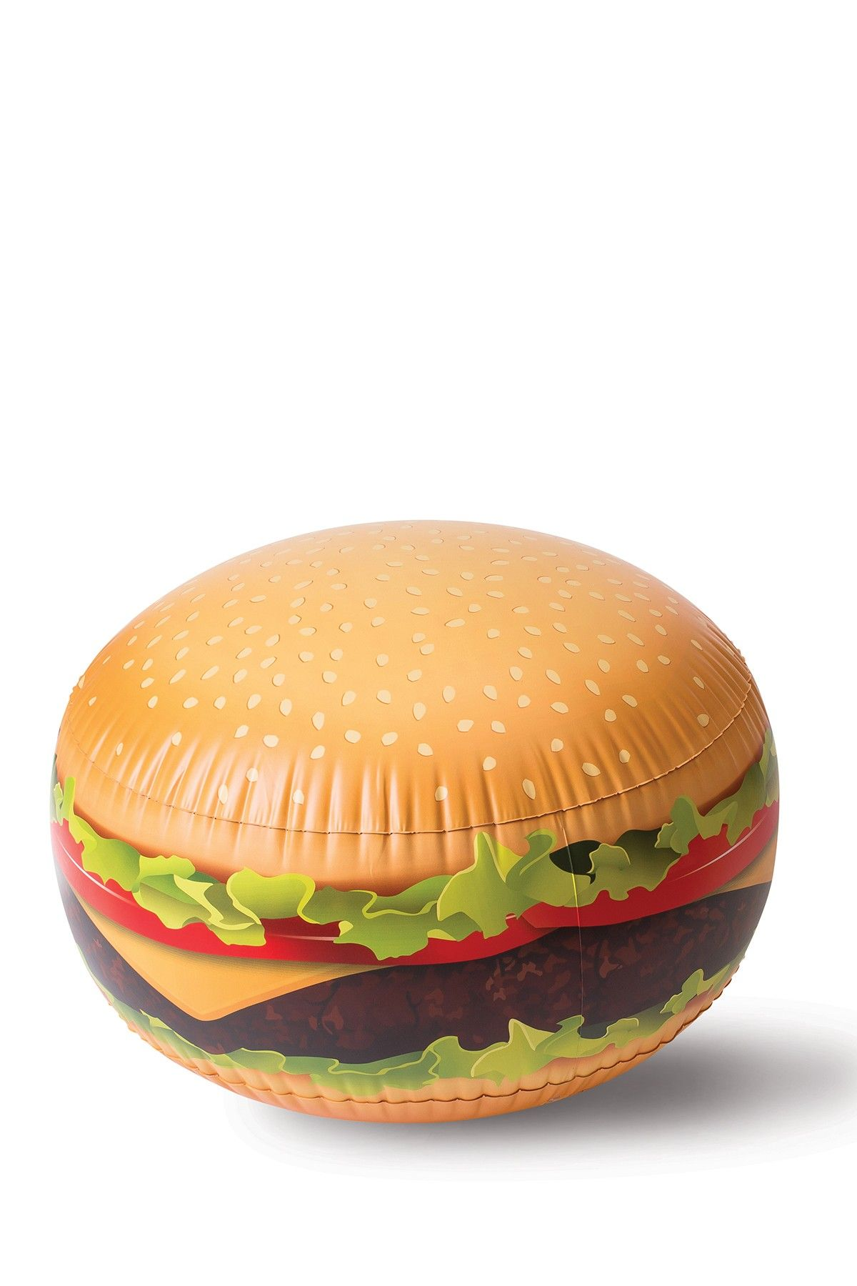 BIG MOUTH TOYS Giant Bouncing Burger Ball