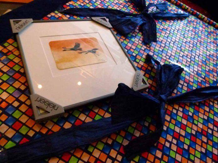 Aquarelle als Geschenke in der Weihnachtszeit | Geschenkverpackungen für Aquarelle (c) FRank Koebsch (1)