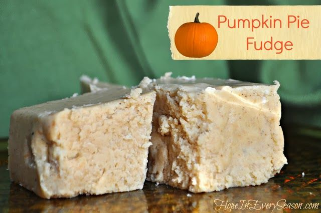 The Creative Princess: Top 3 Fall Fudge Recipes