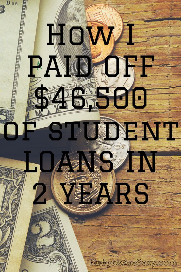 How I Paid Off 46 500 Of Student Loans In 2 Years Paying Off Student Loans Student Loans Student Debt Payoff