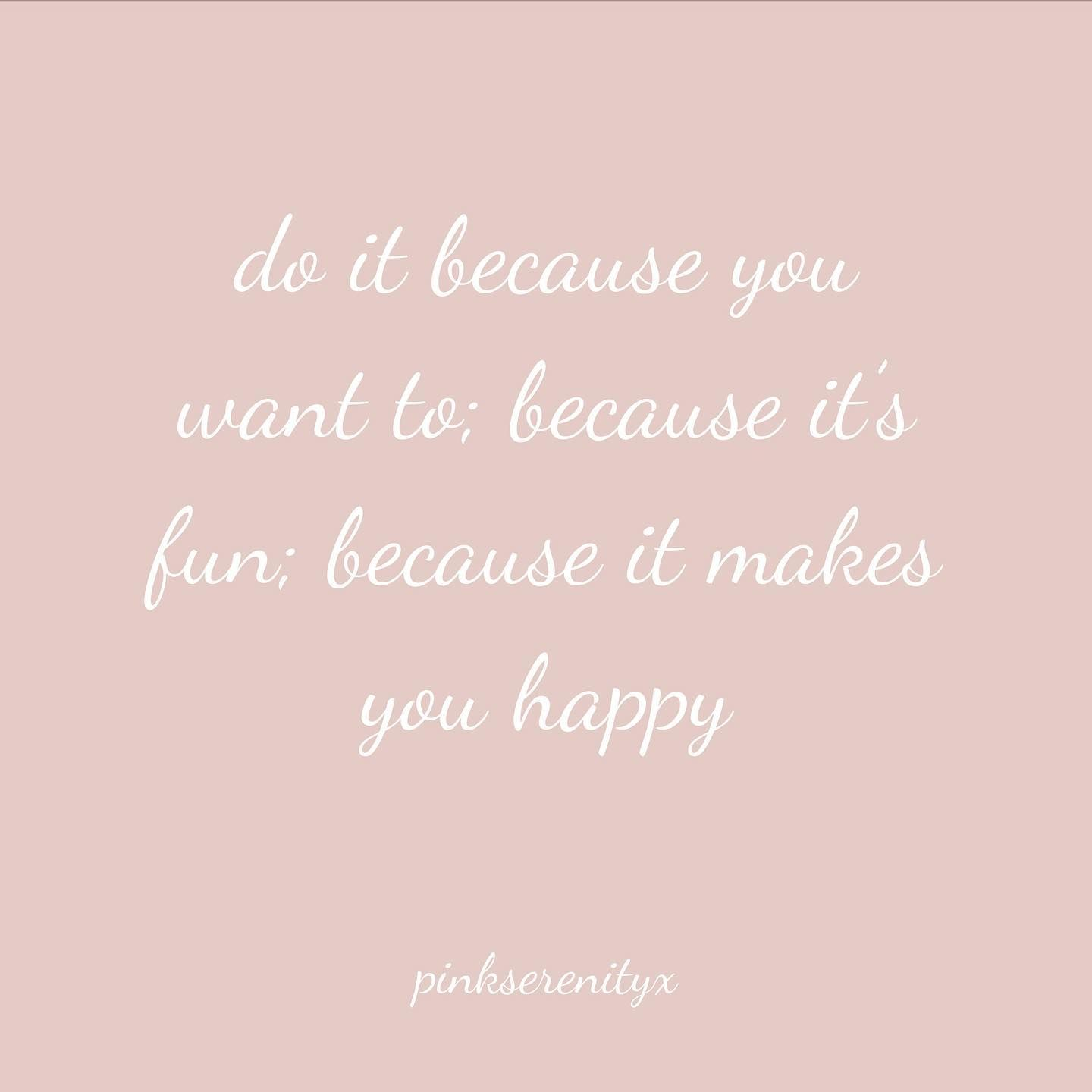 p.s...do it for you 💓x. . . . . #quoteoftheday #wordsofthewise #words #deepthoughts #quotesdaily #instaquotes #wisewords #doyou #youdoyou #quotes #lifequotes #pinkaesthetic #wordstoliveby #wordsofwisdom #reasontosmile #reasontolive #livelaughlovelife #lifestyle #lifeisbeautiful #wantthis #happyquotes #happinessquotes #happinessisachoice #happinessbegins #pinkaestheticedits #pinkserenityx