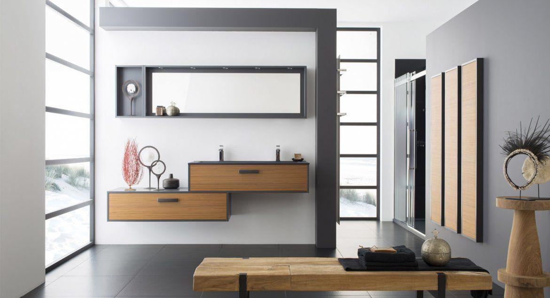 Salle de bain moderne Lumière et Zénitude   Perene   Decoration ...