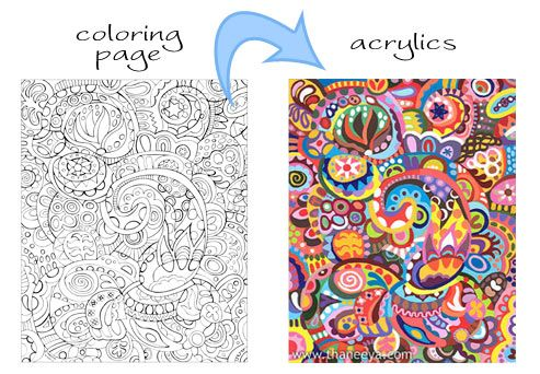 Astonishing Easy Adult Coloring Pages Printable – azspring | 342x493