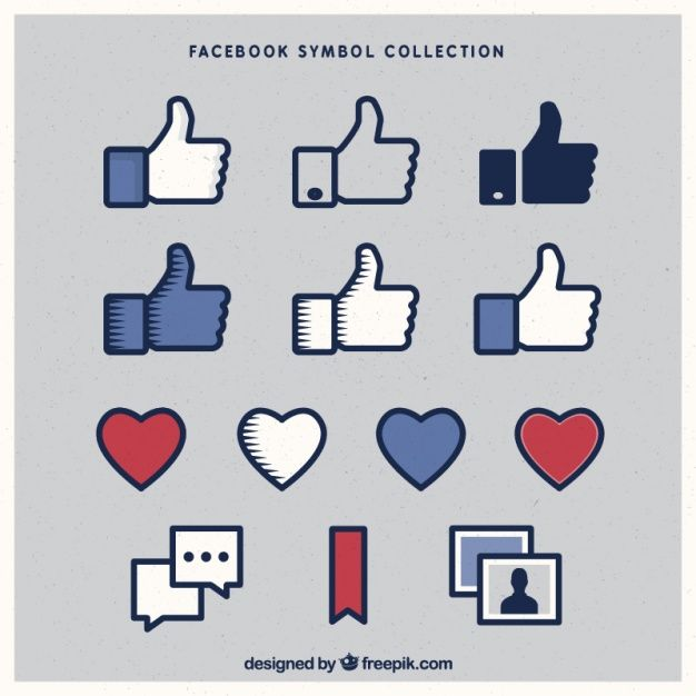 Download Variety Of Facebook Icons For Free Graphisme Creer
