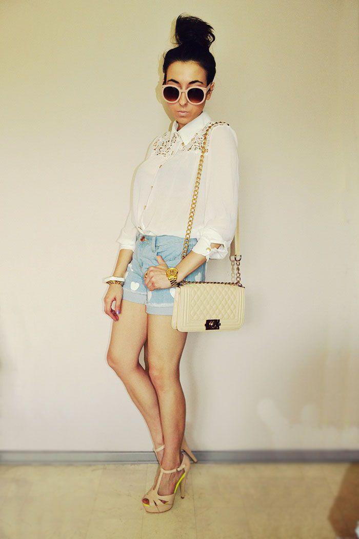 DISTURBED STYLE, Womens Designer Round Sunglasses Oversize Retro Fashion 8623