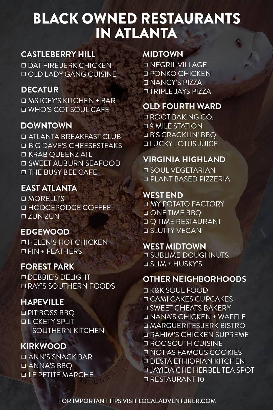 49 popular black owned restaurants in atlanta ga local