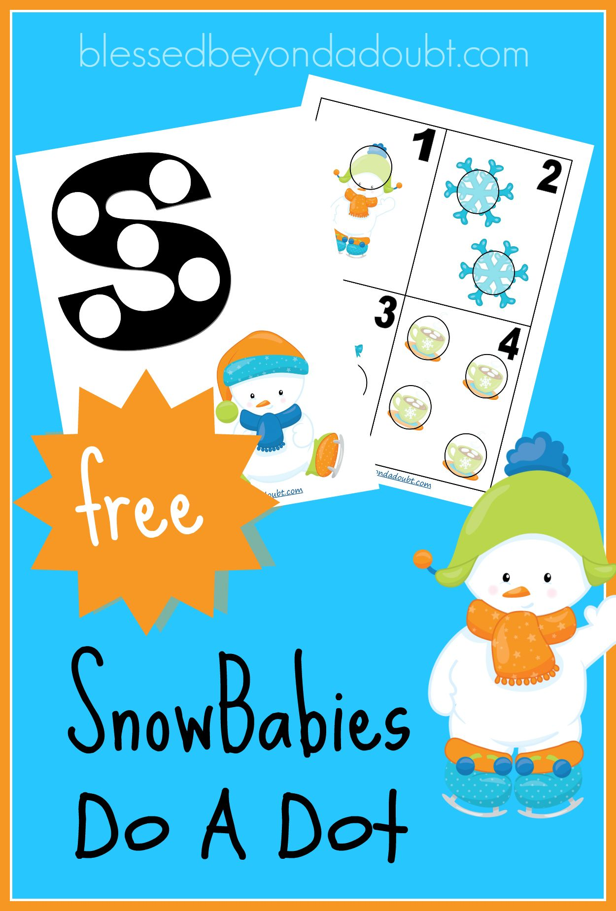 Free Snowbabies Fun Do A Dot