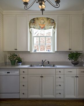 Arch Over Sink Kathy Corbet Interiors Traditional Kitchen