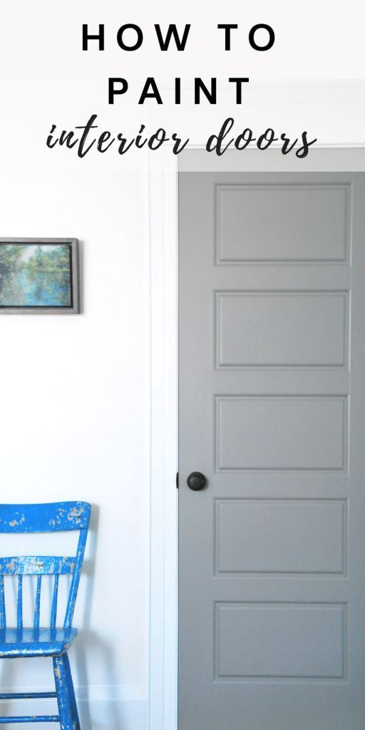 Nice Painting Gray Interior Doors: How I Did It | Interior Door, Painting Interior  Doors And Doors
