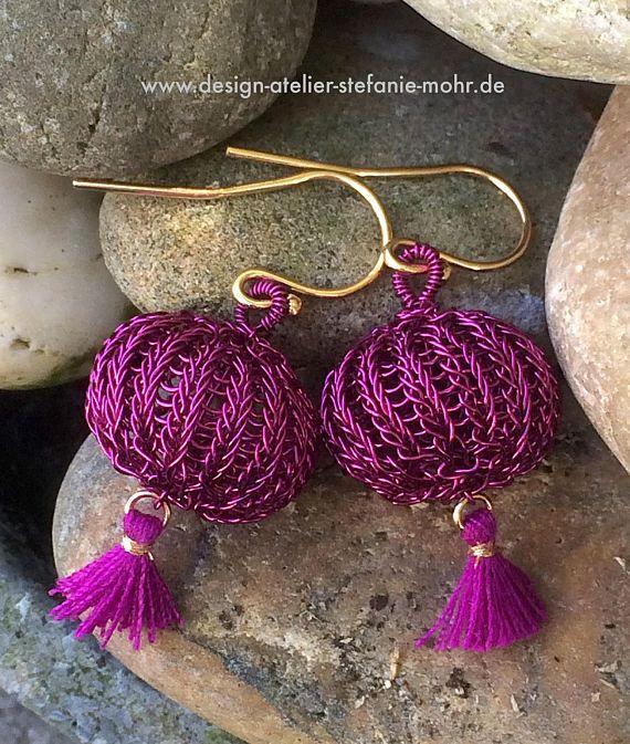 hand made wire crochet \