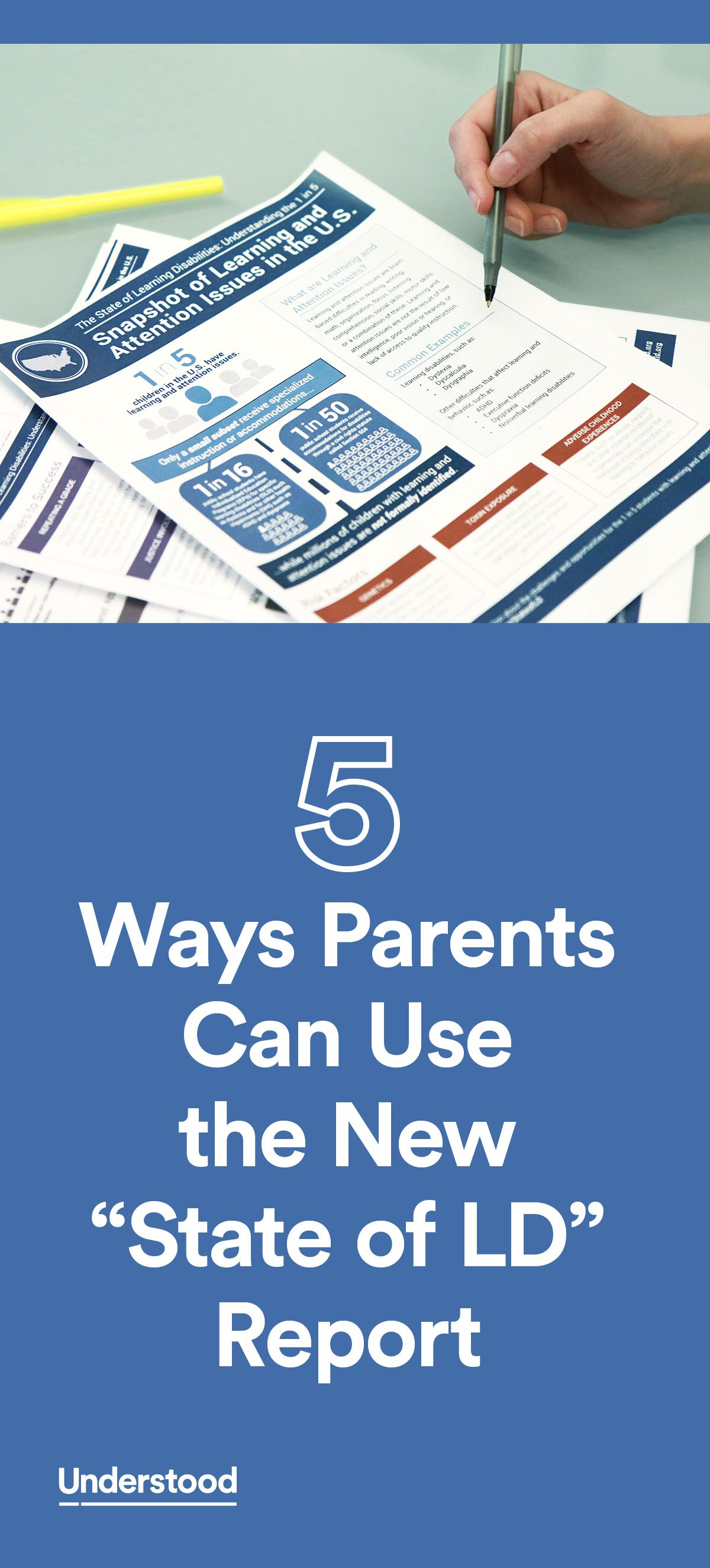 New Report State Of Learning >> 5 Ways Parents Can Use The New State Of Ld Report Advocating For