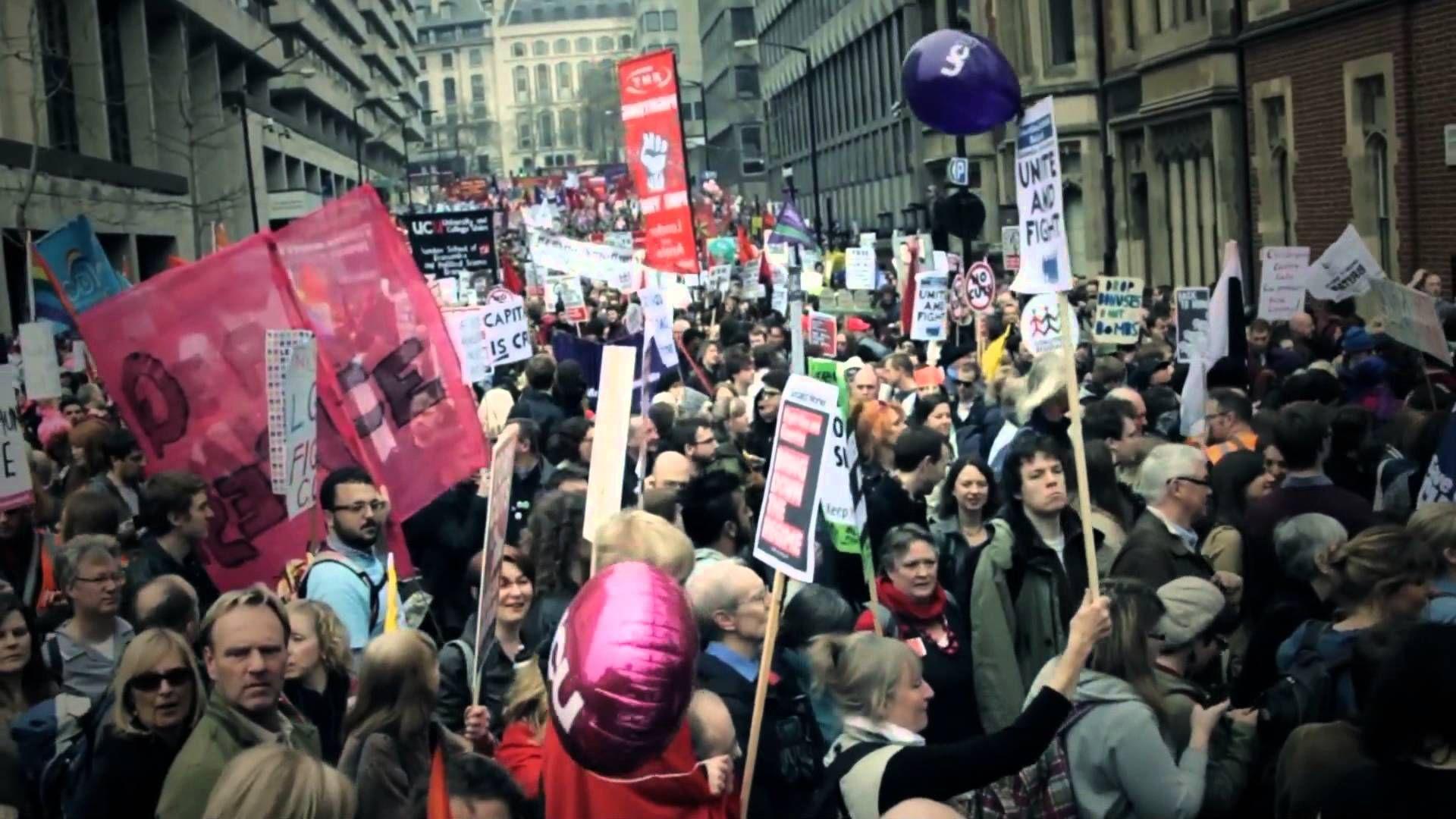 Austerity vs possibilty build a better world austerity