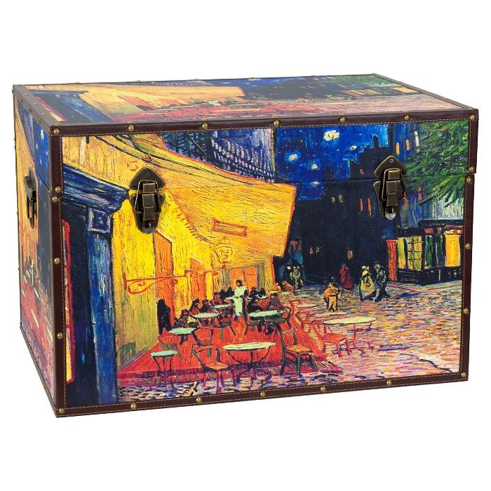 Oriental Furniture Van Goghs Cafe Terrace Trunk