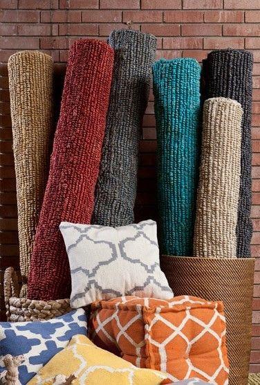 Le Tapis En Fibre Naturelle Jaipur Rugs Rugs Saturated Color