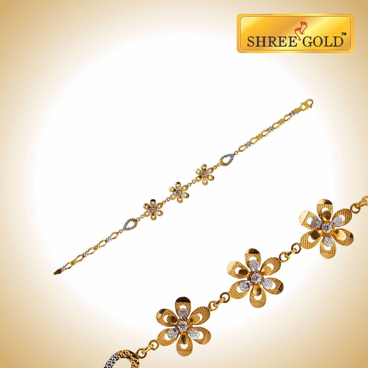 Trendy Flower Design Bracelet That Adds Charm And Elegance Like It For  Your Friends