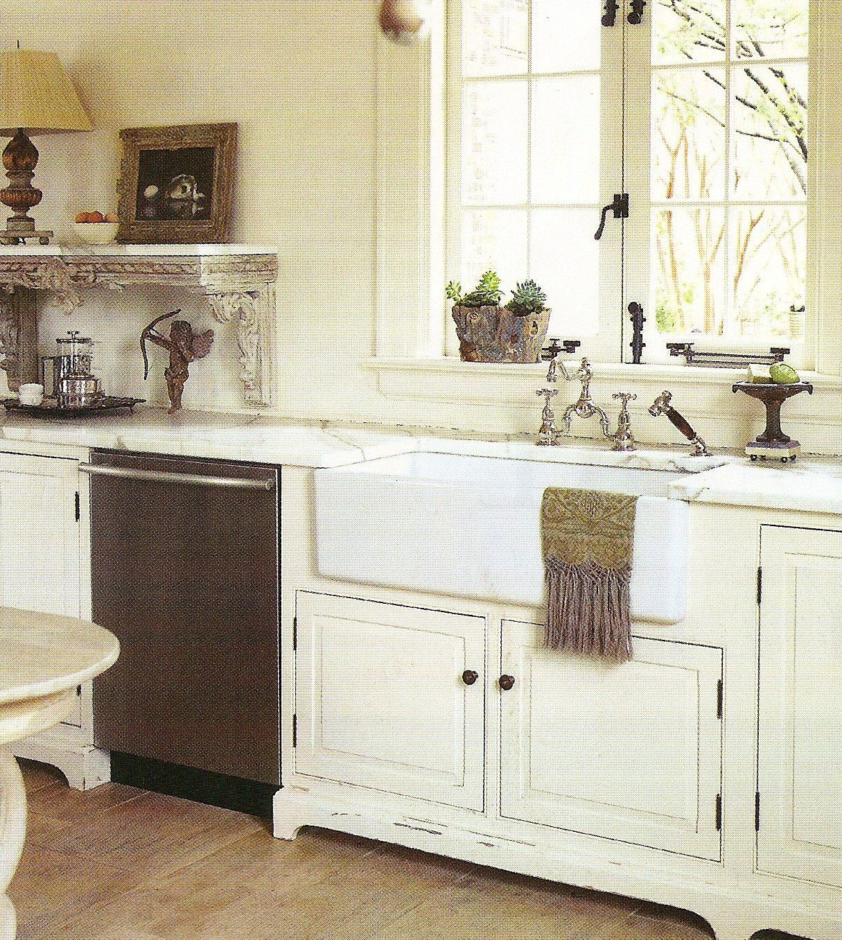 farmhouse sink bridge faucet antique open shelf just everything kitchen inspirations on farmhouse kitchen no upper cabinets id=33300