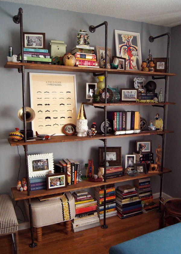 diy tag re tuyaux et planches bricolage pinterest tuyau planches et style industriel. Black Bedroom Furniture Sets. Home Design Ideas