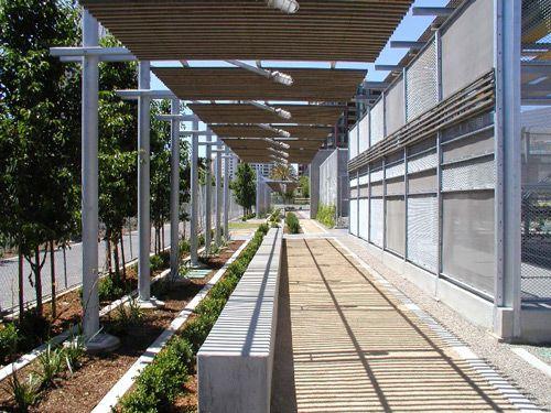 Corridor Roof Design: XTrellis-Walk---Children's-