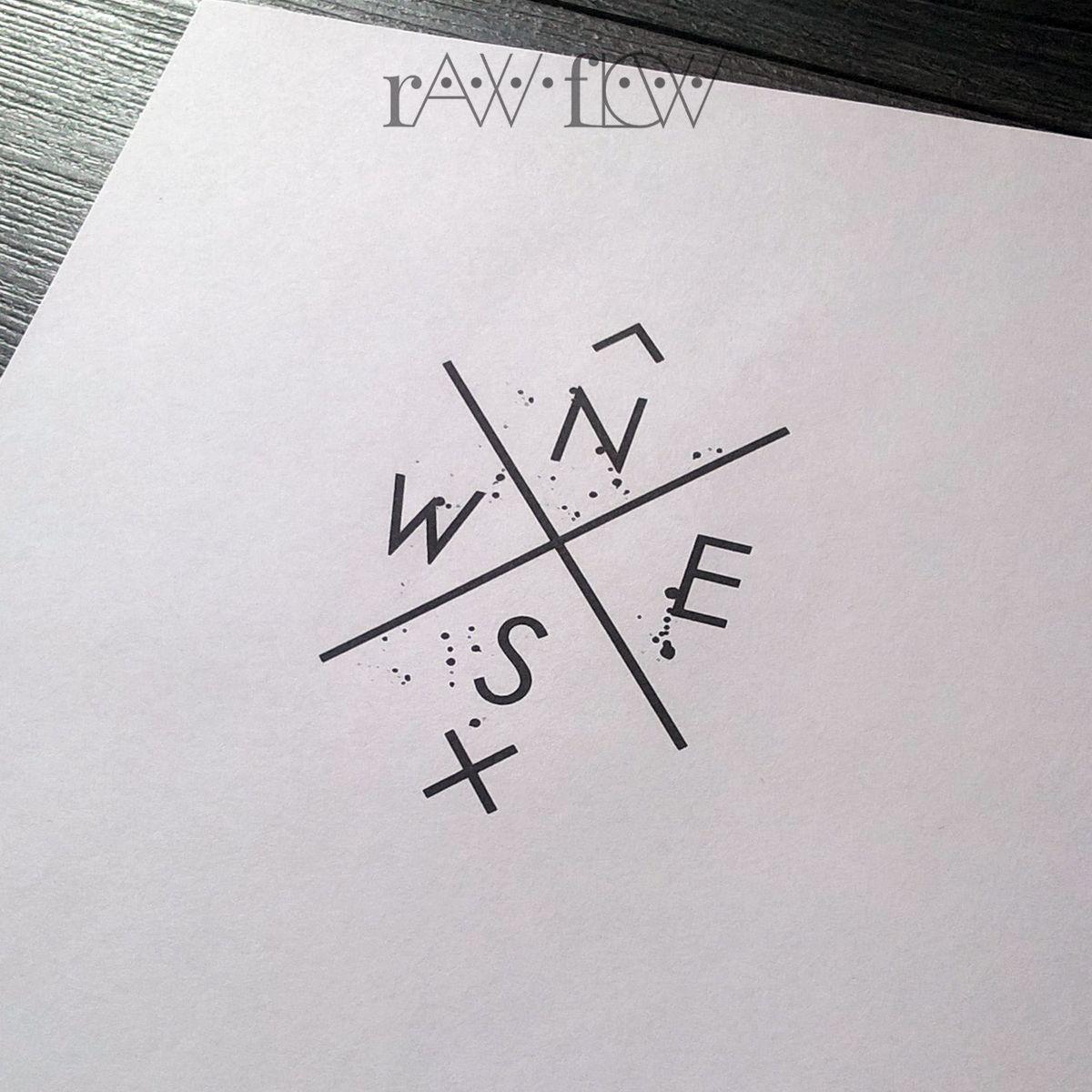 Compass Tattoo For Wrist Minimalist Geometric Tattoo Tattoos