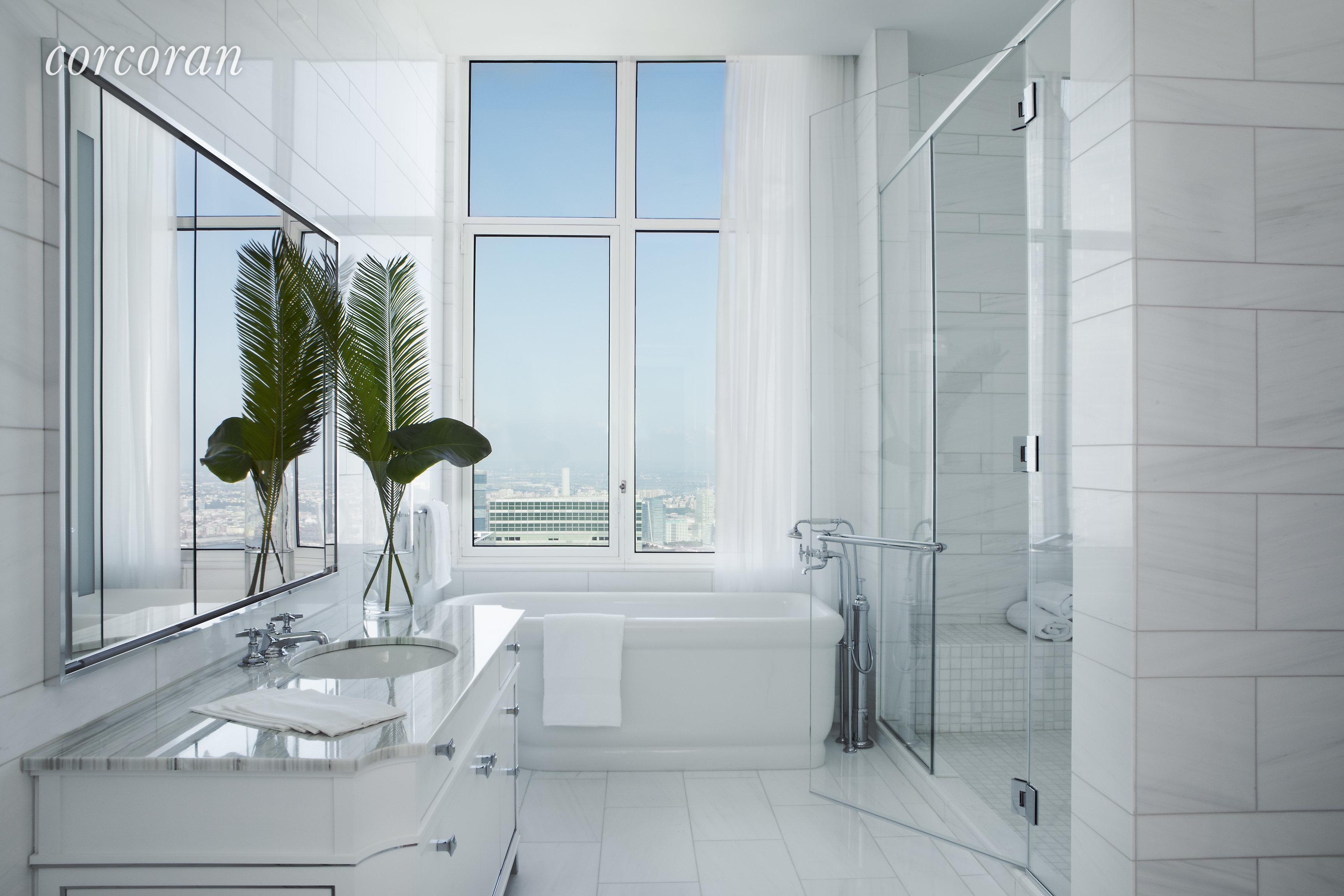 30 Park Place Ph77b Living Room Luxury Interior Design Luxury Interior Residences