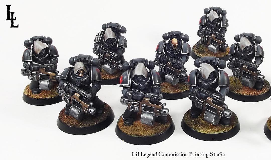 Space Marine Horus Heresy Tactical Legionary Heavy Bolter bits