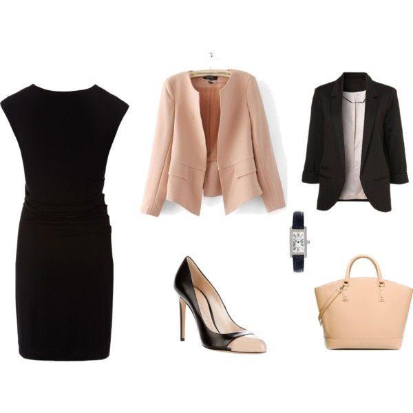 to wear a Little Black Dress to work